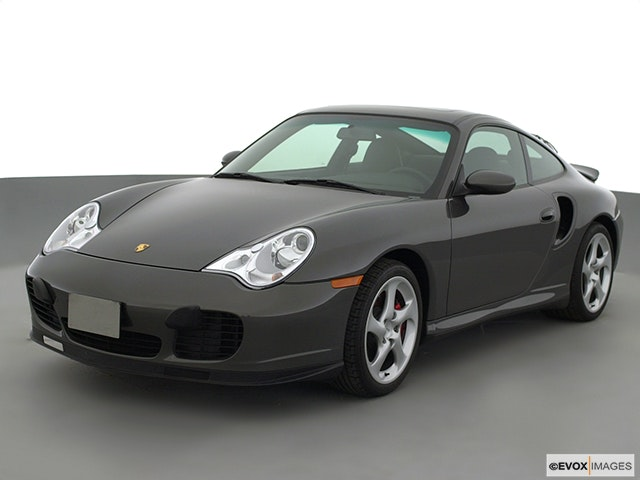 2001 Porsche 911 Front angle view
