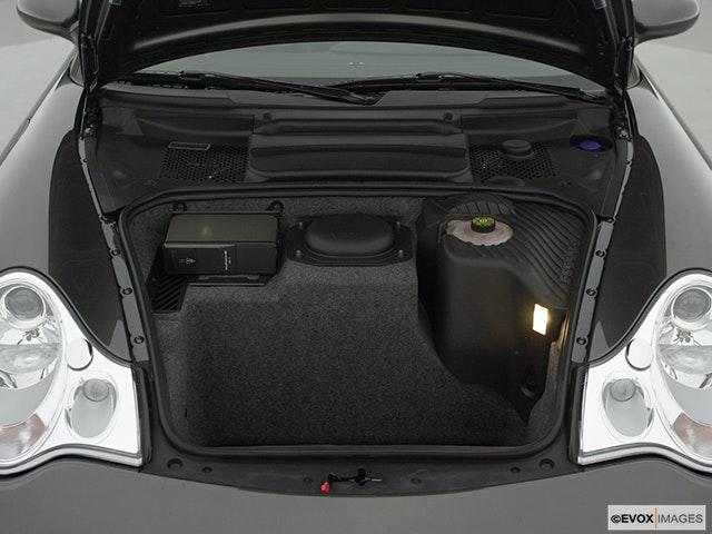 2001 Porsche 911 Trunk open