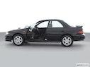2001 Subaru Impreza Driver's side profile with drivers side door open