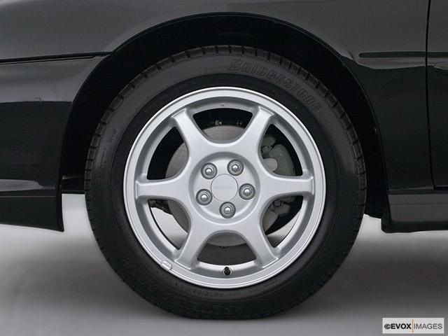 2001 Subaru Impreza Front Drivers side wheel at profile