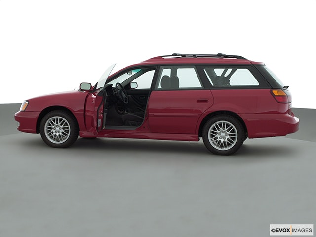 2001 Subaru Legacy Driver's side profile with drivers side door open