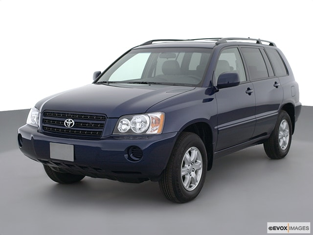 2001 Toyota Highlander Front angle view