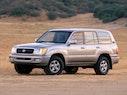 2001 Toyota Land Cruiser Exterior