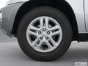 2001 Toyota RAV4 Front Drivers side wheel at profile