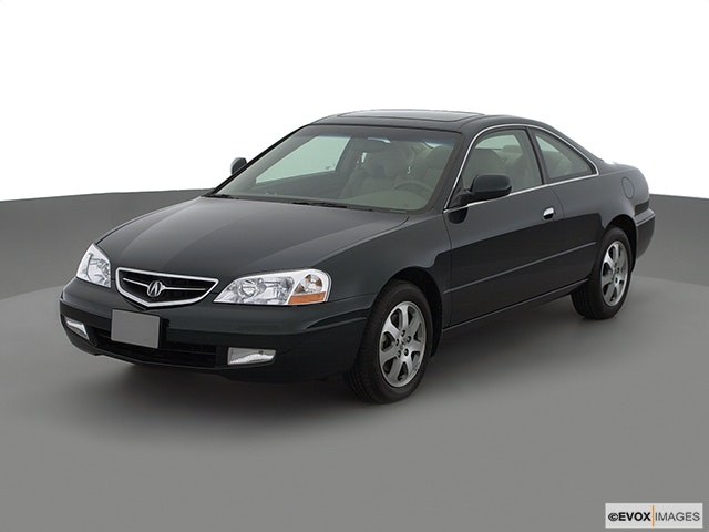 2002 Acura CL Front angle view