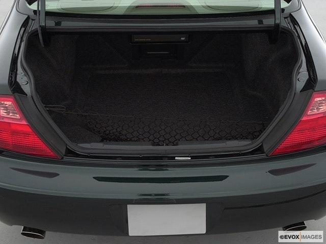 2002 Acura CL Trunk open