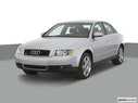 2002 Audi A4 Front angle view
