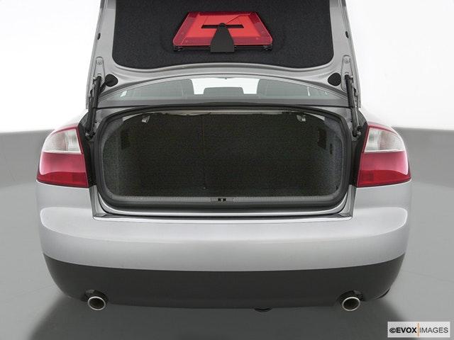 2002 Audi A4 Trunk open