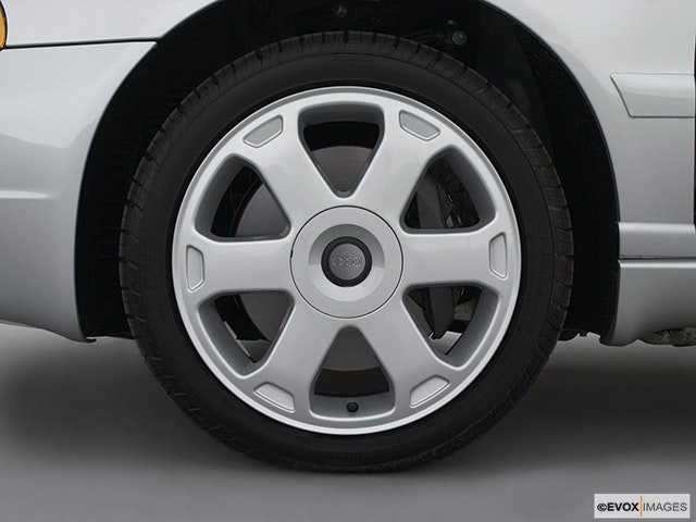 2002 Audi S4 Front Drivers side wheel at profile