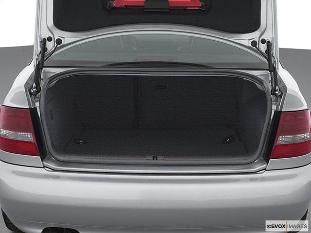 2002 Audi S4 Trunk open