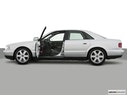 2002 Audi S8 Driver's side profile with drivers side door open