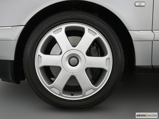 2002 Audi S8 Front Drivers side wheel at profile