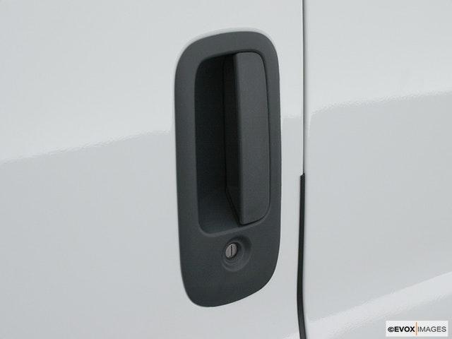 2002 Chevrolet Express Cargo Drivers Side Door handle