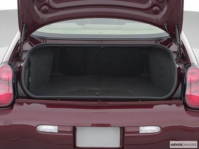 2002 Chevrolet Monte Carlo Trunk open