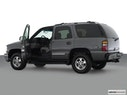 2002 Chevrolet Tahoe Driver's side profile with drivers side door open