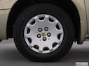 2002 Chrysler Town and Country Front Drivers side wheel at profile