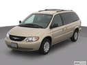2002 Chrysler Town and Country Front angle view