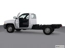 2002 Dodge Ram Pickup 2500 Driver's side profile with drivers side door open