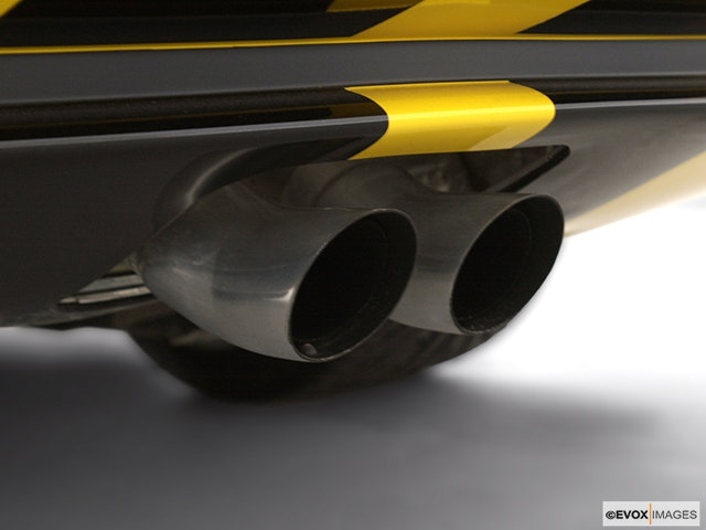 2002 Dodge Viper Chrome tip exhaust pipe