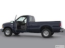 2002 Ford F-250 Super Duty Driver's side profile with drivers side door open