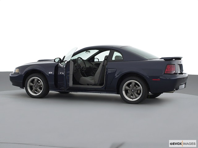 2002 Ford Mustang Driver's side profile with drivers side door open