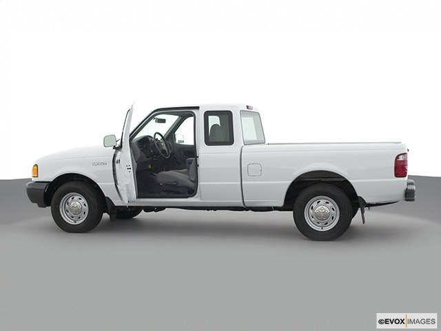 2002 Ford Ranger Driver's side profile with drivers side door open