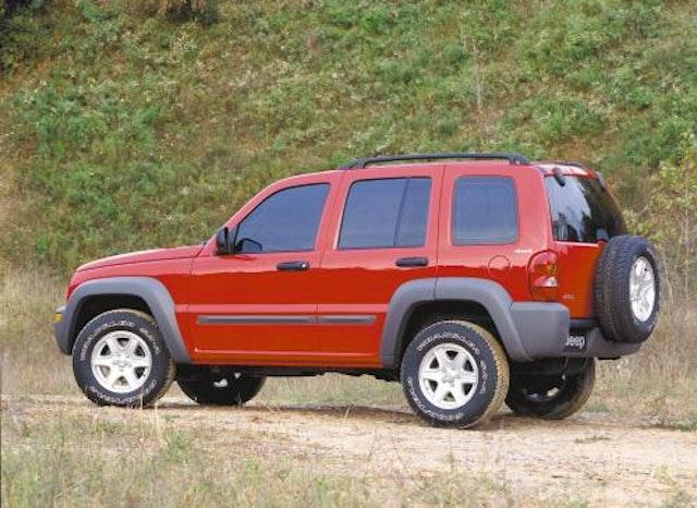 2002 Jeep Liberty Exterior