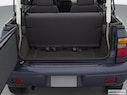 2002 Kia Sportage Trunk open