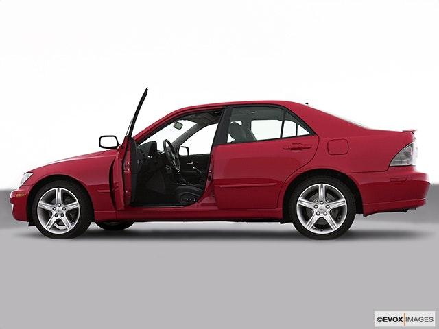 2002 Lexus IS 300 Driver's side profile with drivers side door open