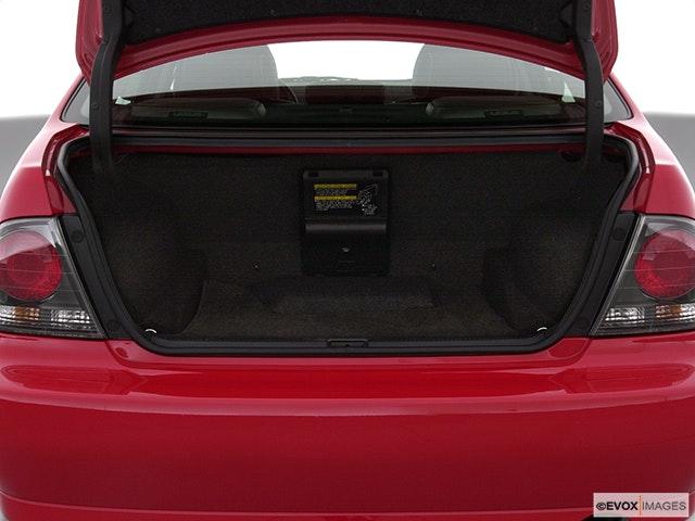 2002 Lexus IS 300 Trunk open