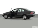 2002 Mercedes-Benz C-Class Driver's side profile with drivers side door open