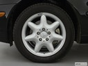 2002 Mercedes-Benz C-Class Front Drivers side wheel at profile
