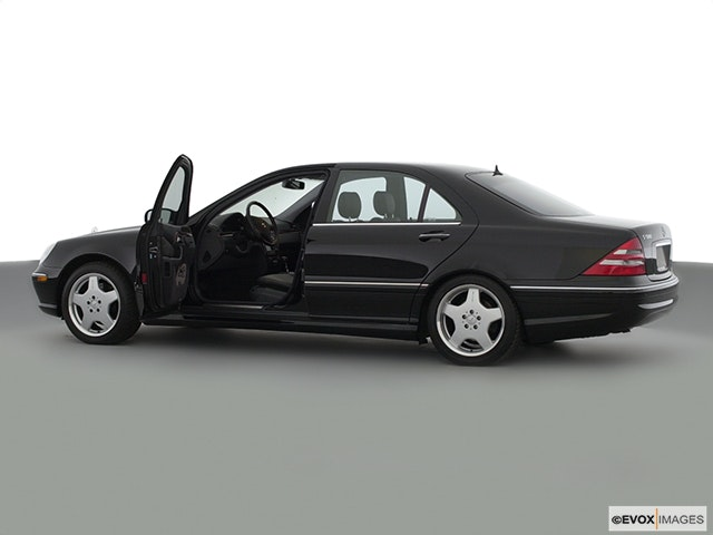 2002 Mercedes-Benz S-Class Driver's side profile with drivers side door open