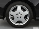 2002 Mercedes-Benz S-Class Front Drivers side wheel at profile