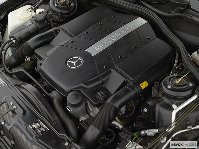 2002 Mercedes-Benz S-Class Engine