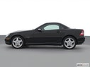 2002 Mercedes-Benz SLK Drivers side profile, convertible top up (convertibles only)