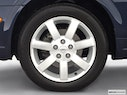 2002 Nissan Maxima Front Drivers side wheel at profile