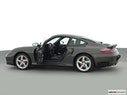 2002 Porsche 911 Driver's side profile with drivers side door open