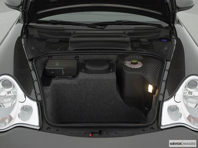 2002 Porsche 911 Trunk open