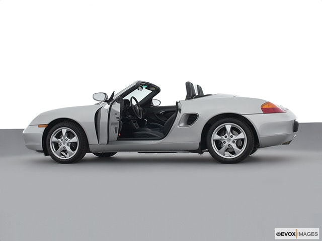 2002 Porsche Boxster Driver's side profile with drivers side door open