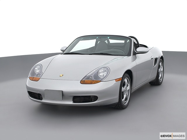 2002 Porsche Boxster Front angle view