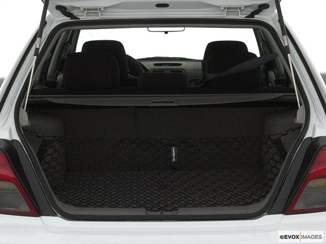 2002 Subaru Impreza Trunk open