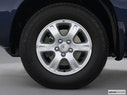 2002 Toyota Highlander Front Drivers side wheel at profile