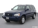 2002 Toyota Highlander Front angle view