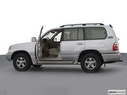 2002 Toyota Land Cruiser Driver's side profile with drivers side door open