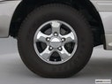 2002 Toyota Land Cruiser Front Drivers side wheel at profile