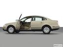 2002 Volkswagen Passat Driver's side profile with drivers side door open