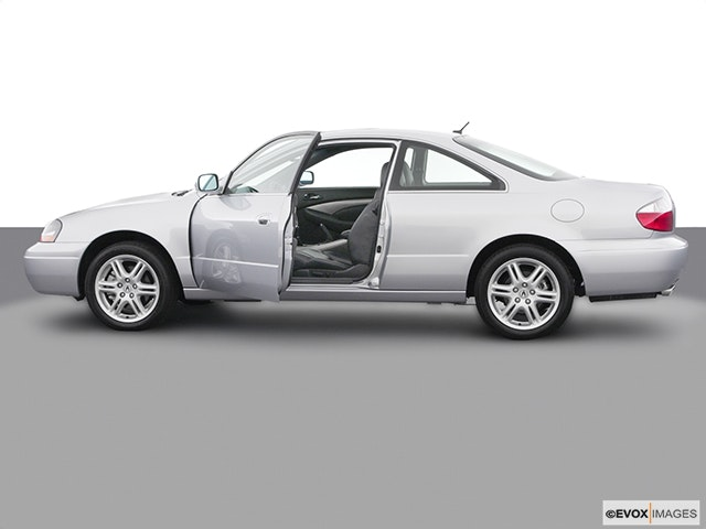 2003 Acura CL Driver's side profile with drivers side door open