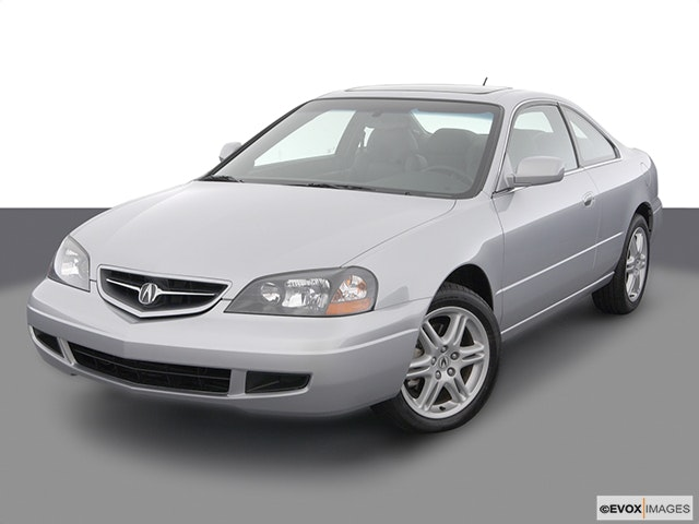 2003 Acura CL Front angle view