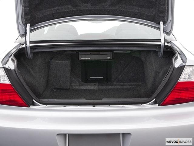 2003 Acura CL Trunk open